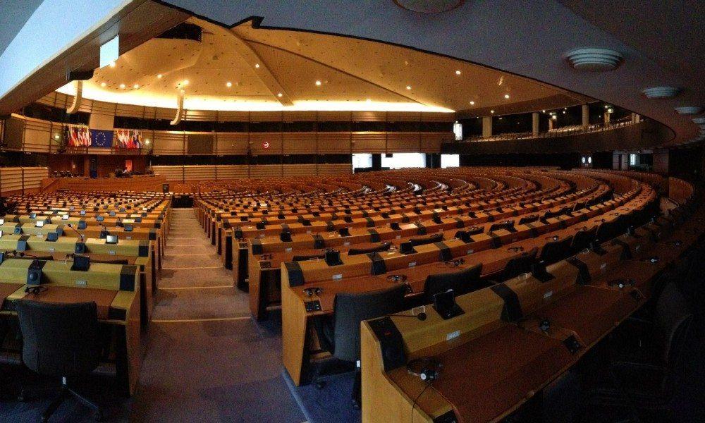 The European Parliament, Brussels. Photo credit: David Parton