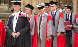 Encaenia, 2012. Image: Oxford University (http://www.ox.ac.uk/sites/files/oxford/styles/ow_large_feature/public/field/field_image_main/b_encaeniahonorands.jpg?itok=JXZ-iYQl)