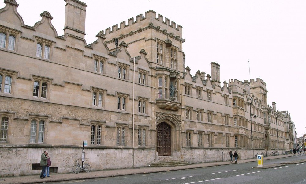University College Oxford (1634 onwards), front to the High Street