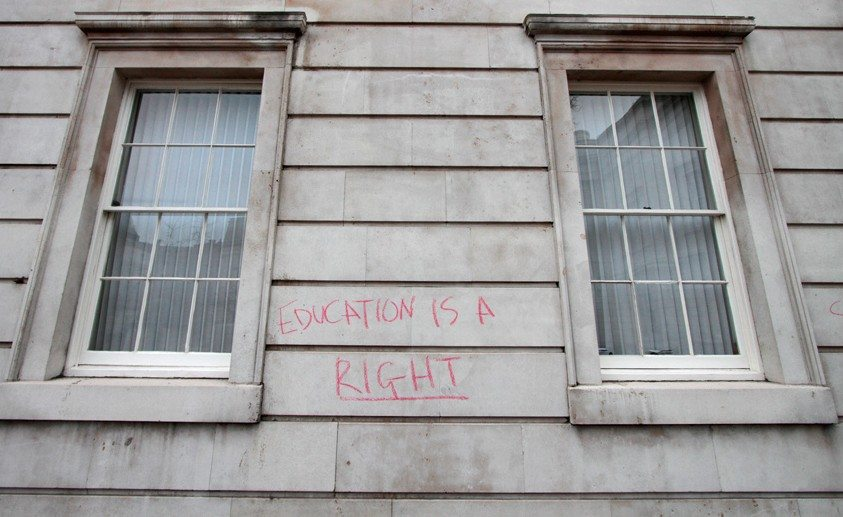 Photo by UCL Occupation
