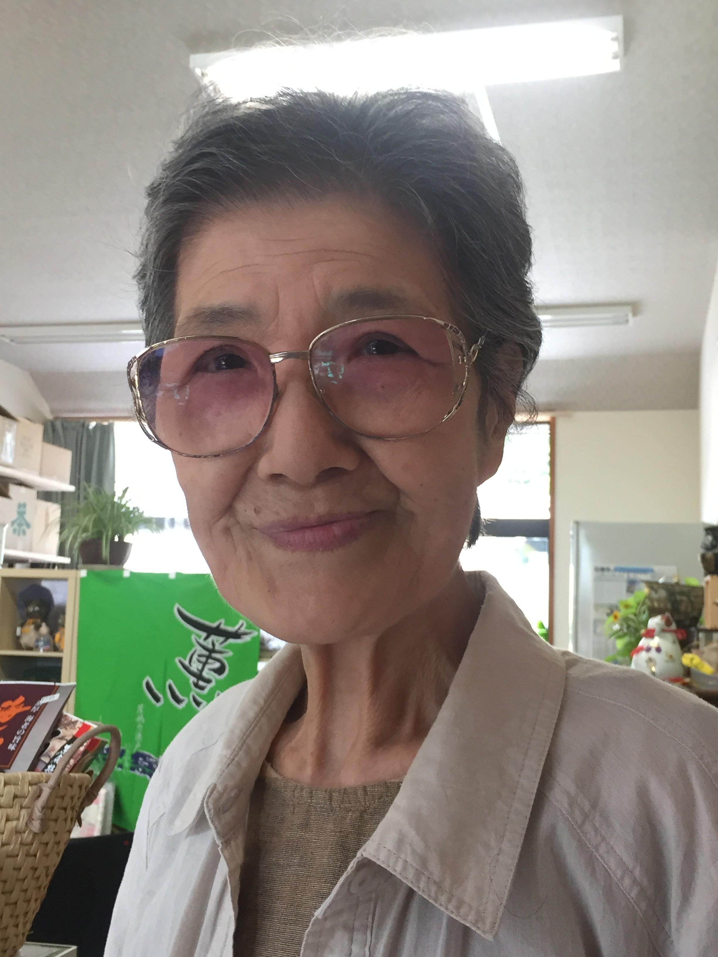 Kiyoko Watanabe, local shopkeeper