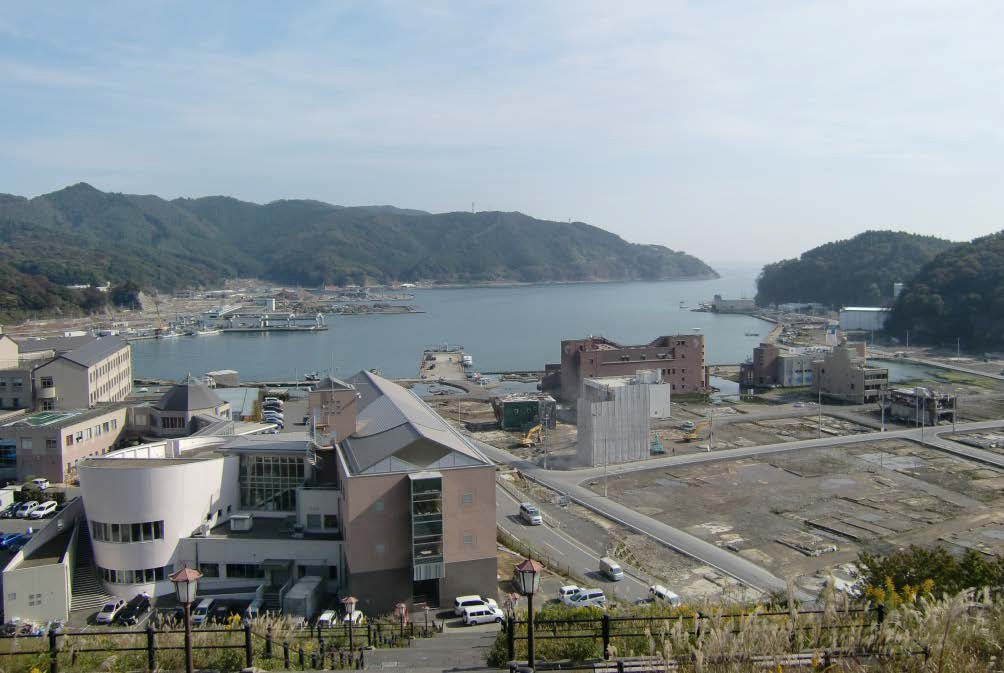 Onagawa - after the tsunami