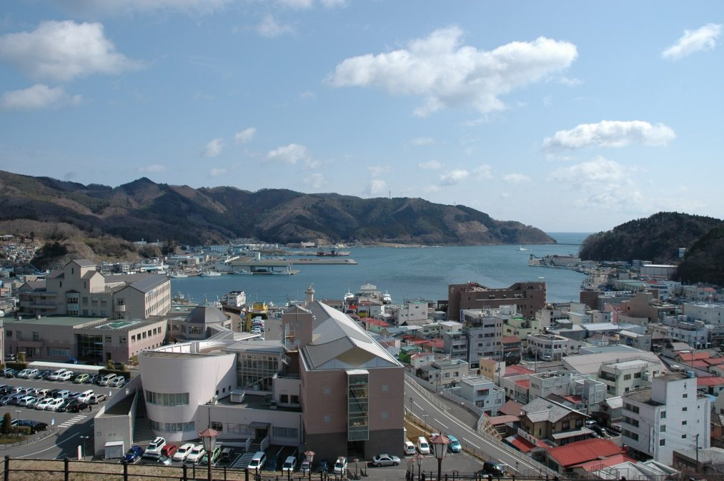 Onagawa - before the tsunami