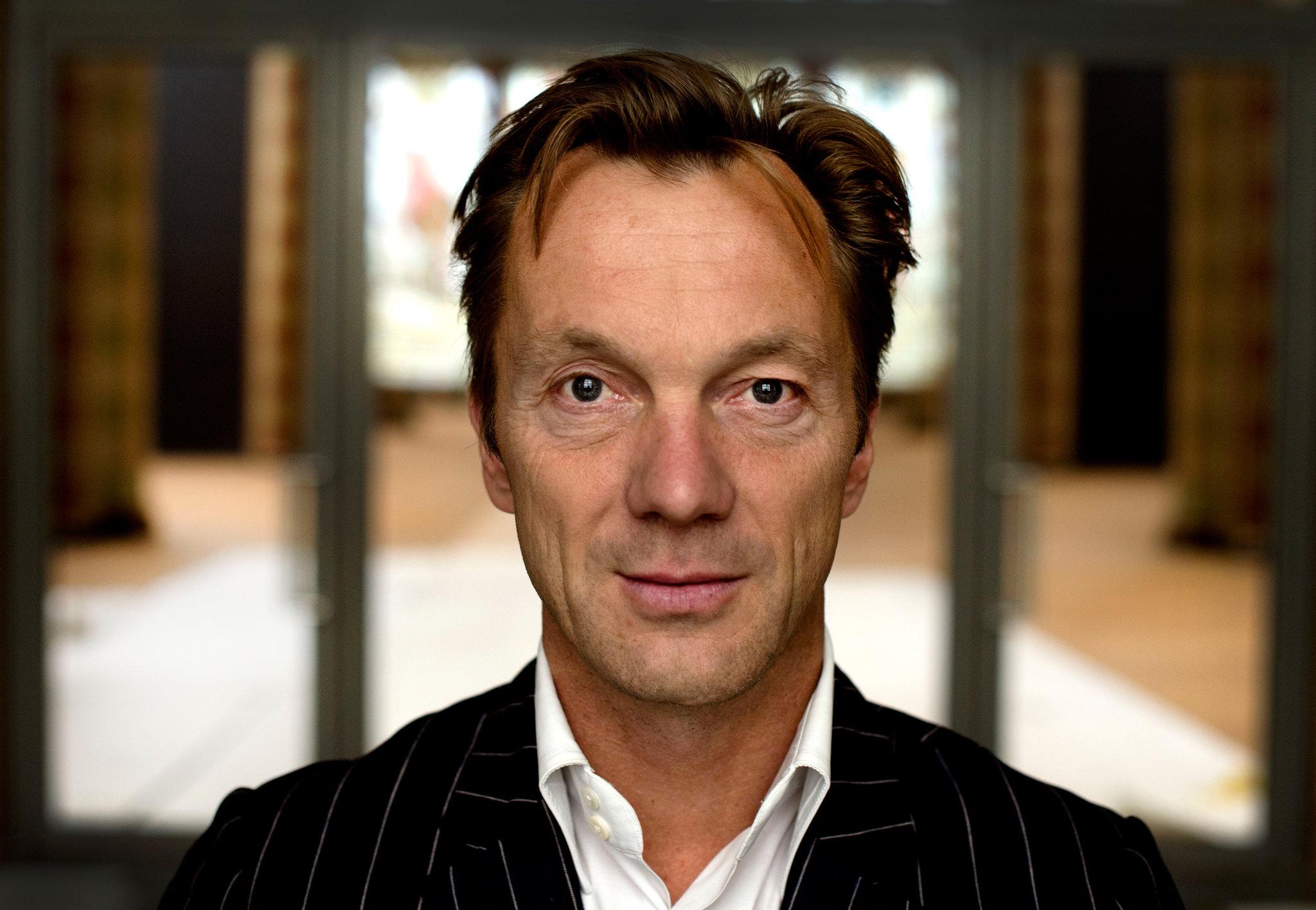 AMSTERDAM - Directeur Wim Pijbes staat in een leeg Rijksmuseum dat klaar is om ingericht te worden. De opening van het museum volgt volgend jaar. ANP OLAF KRAAK