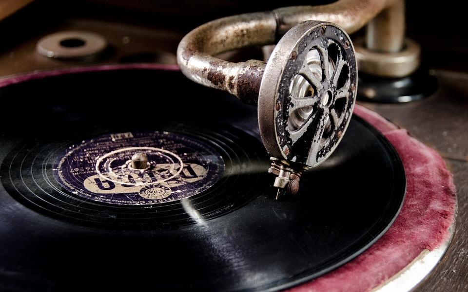 Vintage Vinyl Retro Equipment Record Player