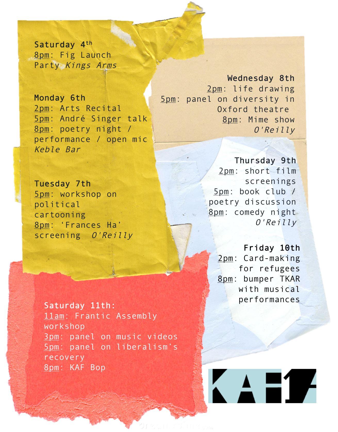Keble Arts festival