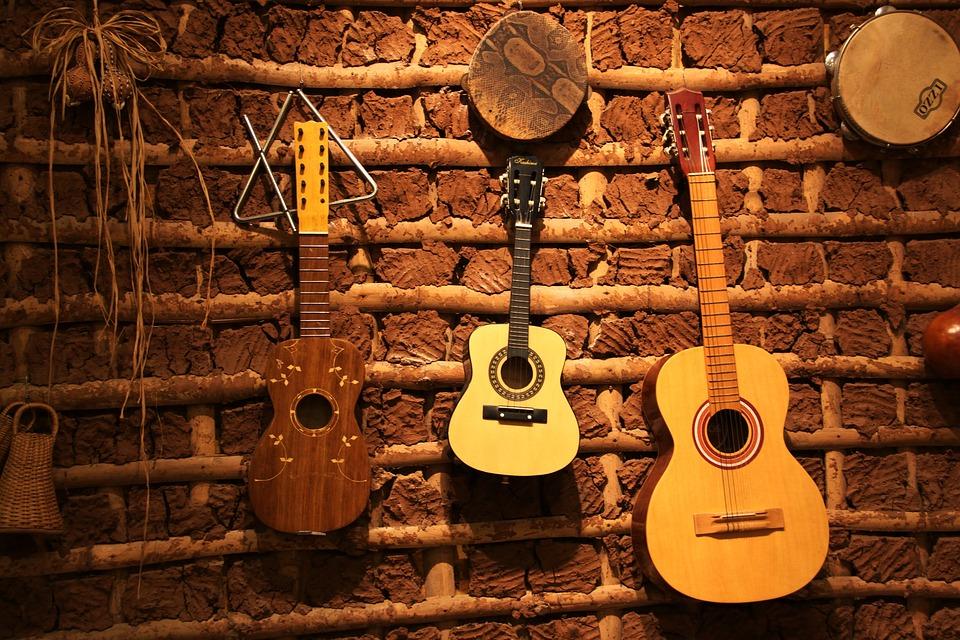 Guitar Po Acoustic Guitar Folk Instrument