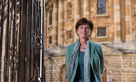 Photos of VC elect, Prof Louise Richardson by John Cairns 4.9.15