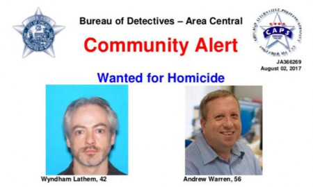 Warren and Lathem wanted poster - CREDIT: chicago police department